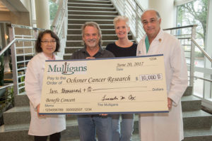 Mulligans Ochsner Cancer Research